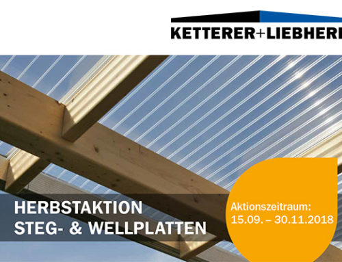 Herbstaktion Steg- & Wellplatten