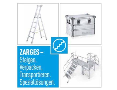 Geschaffen für raue Bedingungen: Die R13 Stufen-Stehleitern von ZARGES.